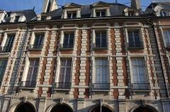 Hôtel de Clermont-Tonnerre - Deutsch: Hôtel de Clermont-Tonnerre in Paris, 18 place des Vosges