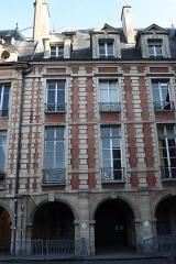 Hôtel de Fourcy - Deutsch: Hôtel de Fourcy in Paris, 8 place des Vosges