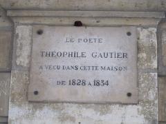 Hôtel de Fourcy - Français:   Hôtel de Fourcy, Place des Vosges, Paris - plaque