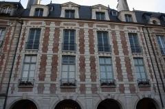 Hôtel Genou de Guiberville - Deutsch: Hôtel Genou de Guiberville in Paris, 2 place des Vosges
