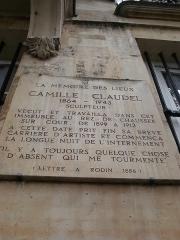 Ancien hôtel de Jassaud -  Paris, Ile Saint-Louis, quai d'Anjou, ou quai de Bourbon, des plaques à toutes les portes