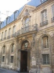 Hôtel Jeanne d'Albret -  Hôtel d'Albret, Le Marais, Paris.