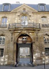 Hôtel Jeanne d'Albret - English: Francs-Bourgeois street - Paris