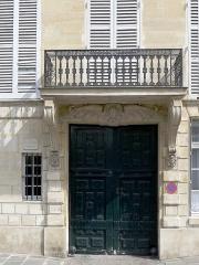 Hôtel Lefebure de la Malmaison - English: Quai de Béthune - Paris