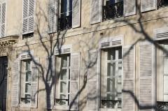 Immeuble (hôtel de Comans d'Astry) - Deutsch: Hôtel de Comans d'Astry am Quai de Béthune n° 18 auf der Île Saint-Louis im 4. Arrondissement in Paris (Île-de-France/Frankreich), Maskaron