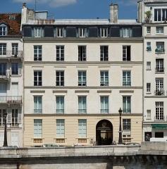 Immeuble - English: Bibliothèque Polonaise de Paris, France.
