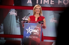 Immeuble -  Laura Ingraham speaking at the 2018 Conservative Political Action Conference (CPAC) in National Harbor, Maryland.  Please attribute to Gage Skidmore if used elsewhere.