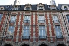 Immeuble - Deutsch: Paris, 4 place des Vosges