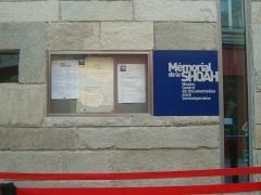 Mémorial du Martyr juif inconnu, actuel Centre de documentation juive contemporaine - English: Musée de la Shoah