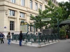Métropolitain, station Cité -  CITE