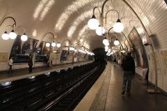 Métropolitain, station Cité - English: Cité (Paris Metro), March 2013