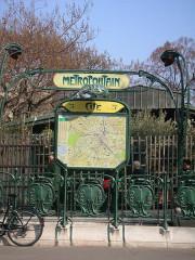 Métropolitain, station Cité -  Cité metro entrance