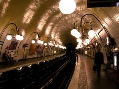Métropolitain, station Cité - 中文(简体): 巴黎地铁城岛站