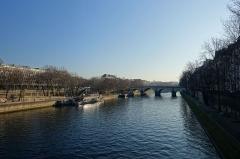 Pont Marie -  Ile Saint-Louis @ Seine @ Paris