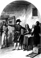 Prison de la Force (restes de la) - English: The Girondists's Held at La Force Prison