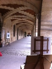 Place des Vosges -  Arsenal, Paris, France