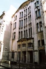 Synagogue -  Hector Guimard's building: Art Nouveau style synagogue, (4 rue pavée, 4ème arrondissement, Paris).