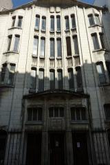 Synagogue - Deutsch: Paris, Synagoge in der Rue Pavée, Fassade
