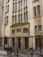 Synagogue -  Synagogue de la rue Pavée, Paris.
