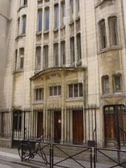 Synagogue -  Synagogue de la rue Pavée, Paris.