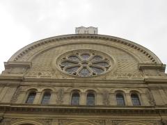 Synagogue - Čeština: Synagogue de la rue des Tournelles