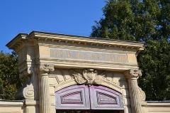 Ancien couvent des Récollets ou ancien hôpital Villemin -  quartier canal St Martin