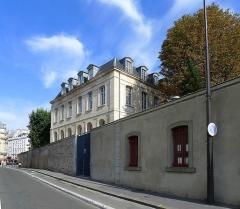 Ancien couvent des Récollets ou ancien hôpital Villemin - Français:   Rue des Récollets - Paris X