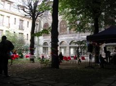 Ancien couvent des Récollets ou ancien hôpital Villemin - Français:   Couvent des Récollets (Paris 10e) en restructuration