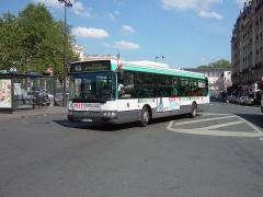 Gare de l'Est - English:   Agora Line on line 65 at Gare de l\'Est