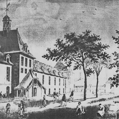 Hôpital Saint-Louis - Deutsch: Abbildung des Hopital Sain-Louis
