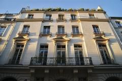 Hôtel de Rosambo - Français:   Façade de l\'hôtel de Rosambo, rue René-Boulanger, Paris 10e.