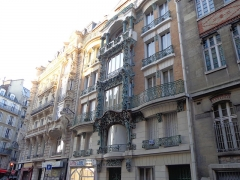 Immeuble - English: Some pictures taken in Paris, France, April 2014