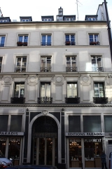 Maison - Deutsch: Haus in de:Paris (10. Arrondissement), 29 rue de Paradis