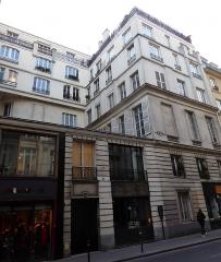 Maison ou ancien hôtel de Raguse - Français:   Hôtel Gouffier 51 rue de Paradis
