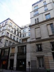 Maison ou ancien hôtel de Raguse - Français:   Rue de Paradis 51