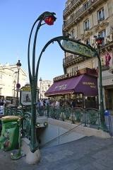 Métropolitain, station Gare du Nord - Français:   Édicule Guimard de la station Gare du Nord, 12 boulevard de Denain, 75010 Paris (monument historique)