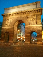 Porte Saint-Martin -  Arche de triomphe, Strasbourg Saint Denis