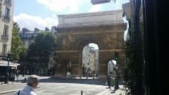 Porte Saint-Martin - Français:   Porte ancienne des enceintes  de.Paris 16 eme siècle