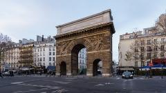 Porte Saint-Martin - Français:   Porte Saint-Martin à Paris