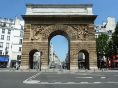 Porte Saint-Martin - Deutsch: Paris - Boulevard Saint-Denis (Porte Saint-Martin)