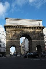Porte Saint-Martin - Deutsch: Porte Saint-Martin im 10. Arrondissement in Paris (Île-de-France/Frankreich