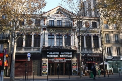 Théâtre Antoine - Deutsch: Théâtre Antoine, 14, Boulevard de Strasbourg im 10. Arrondissement von Paris