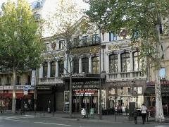 Théâtre Antoine - Čeština: Théâtre Antoine v Paříži na podzim roku 2008.