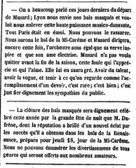 Théâtre de la Renaissance - English: Nouvelles des bals du Carnaval de Paris et de Philippe Musard.