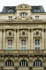 Théâtre de la Renaissance -  Paris, Théâtre de la Renaissance.