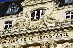 Théâtre de la Renaissance -  Théâtre de la Renaissance, Paris.