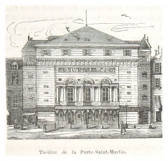 Théâtre de la Porte-Saint-Martin -