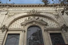 Théâtre de la Porte-Saint-Martin - Deutsch: Théâtre de la Porte Saint-Martin im 10. Arrondissement in Paris (Île-de-France/Frankreich)