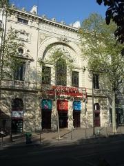 Théâtre de la Porte-Saint-Martin - Français:   Le théâtre de la Porte-Saint-Martin à Paris en 2017