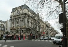 Théâtre de la Porte-Saint-Martin - Français:   Théâtres de la Renaissance et de la Porte-Saint-Martin, boulevard Saint-Martin, Paris 10 e.
